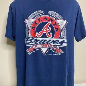 Vintage 1992 Atlanta braves t shirt size XL